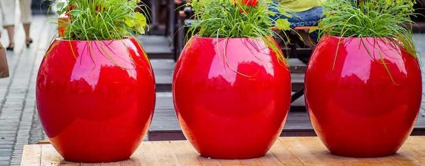 Modna donica kulista Manacor z kompozytu poliestrowo szklanego