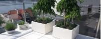 Donice balkonowe stojące, doniczki balkonowe podłużne