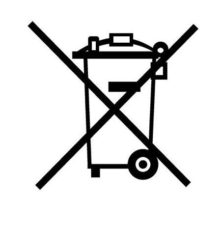 Kosz - zakaz składowania odpadów